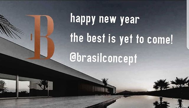 HAPPY NEW YEAR! THE BEST IS YET TO COME! #brasilconcept #internationalrealty #luxuryrealestate #realestate #archidaily #archilovers #architecturelovers #architecture #arquitetura #luxuryhomes #luxurylife #luxuryliving #luxury #juantonello #fabianabonini #golfclub #golflife #realtor #realty #dreamhouse #investiment #travel #happynewyear #happy #2018 #interiordesp #sp #saopaulo #campinas - posted by Brasil Concept https://www.instagram.com/brasilconcept - See more Luxury Real Estate photos…
