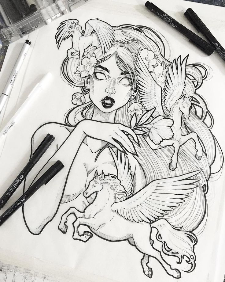 Line Drawing Tattoos London : Best ideas about pegasus tattoo on pinterest