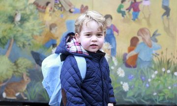OMG President Obama Met Prince George And It Was The Cutest