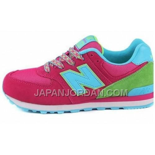 http://www.japanjordan.com/new-balance-574-womens-pink-green-shoes.html 送料無料 NEW BALANCE 574 WOMENS ピンク 緑 SHOES Only ¥7,598 , Free Shipping!