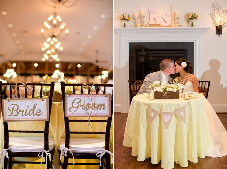 The 25 best bride groom table ideas on pinterest sweet heart bride groom table cant decide if this is weird that they are sciox Images