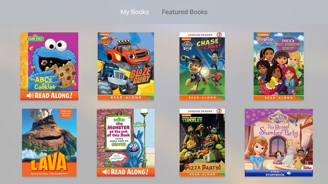 Apple Releases New iBooks StoryTime App for Apple TV - iClarified
