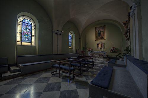 Cappella, Madonna della Guardia. Genova