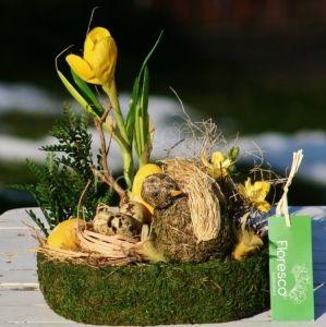Velikonoční dekorace na stůl | Květinářství Floresco