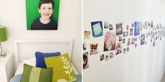 Фотографии в интерьере - варианты оформления