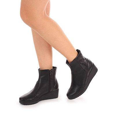Ankle Boots Feminina Azaleia - Preto