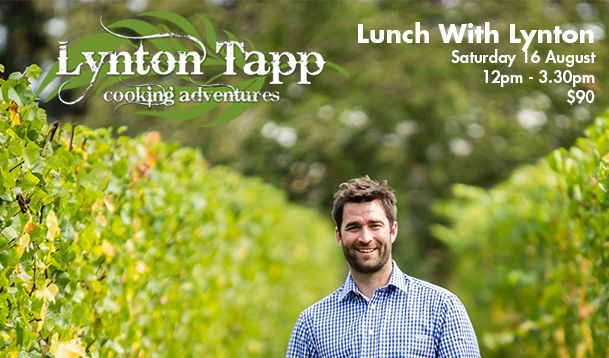 Lunch with Lynton. Join Lynton and Bethany Wines for a very special lunch on Saturday 16 August at the 2014 Barossa... Be Consumed Gourmet Weekend. Bookings essential.  #BarossaGourmet #Barossa