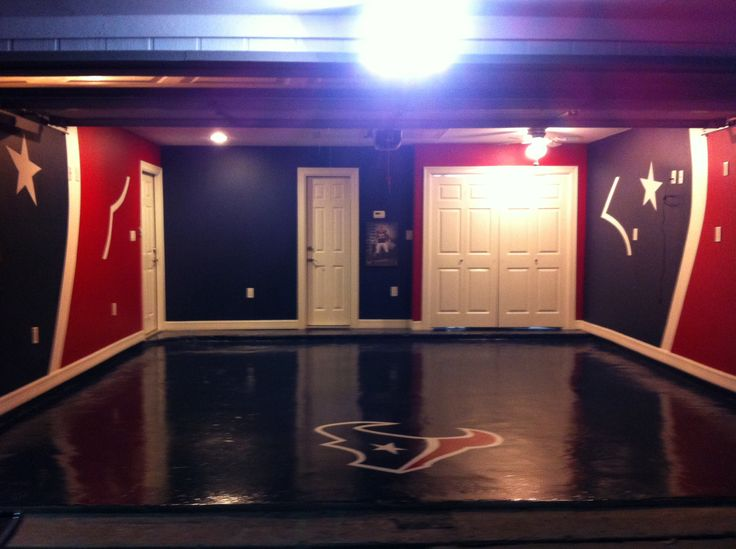 Need a man cave designed?  I can do anything you would like.  I can design to your liking.  This is a Texans man cave I just completed.  Please contact me if you are interested.  Darby Wolf 713-854-2188