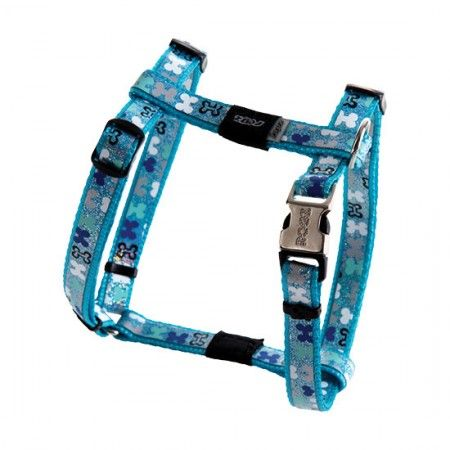 Rogz Lapz Trendy Dog Harness Blue - Medium