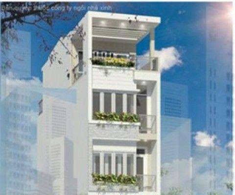 Mẫu thiết kế nhà phố phong cách sang trọng và hiện đại