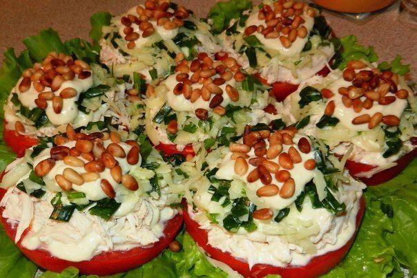 Топ 10 порционных салатиков