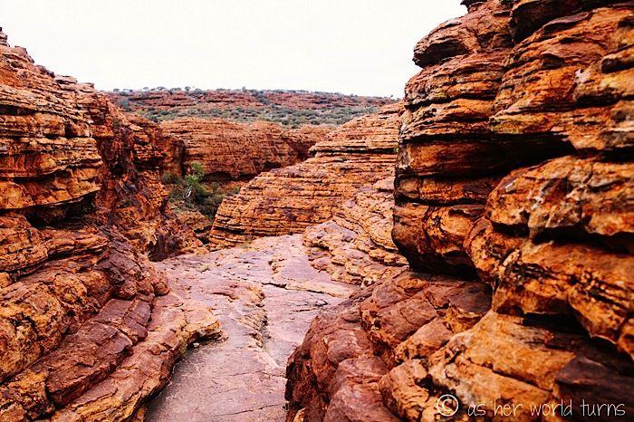 Kings Canyon, Australia Outback