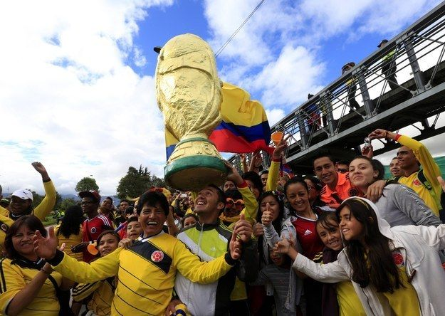 It featured thousands of adoring fans. | The Colombian National Team Returned To An Unbelievable Welcome Home