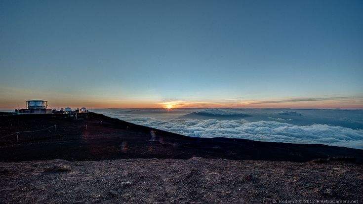 Summit Sunset - Haleakala, Maui, Hawaii
