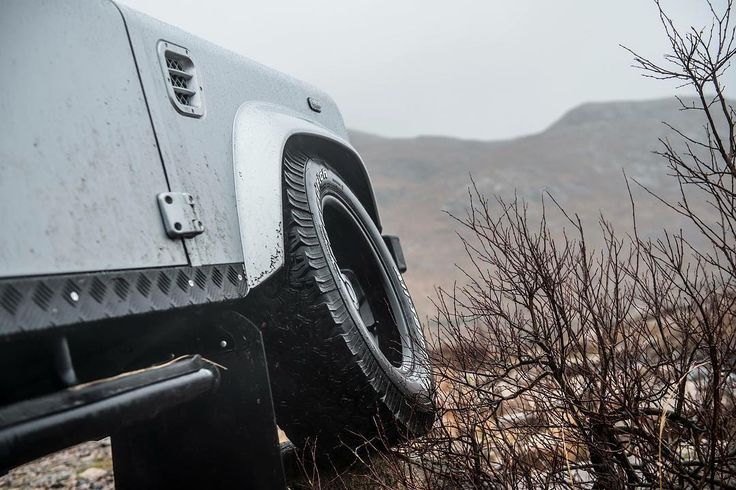 BF Goodrich All-Terrain tyres - ready for anything, anywhere.  Image: @gfwilliams  #Lifestyle #Iconic #LandRover #LandRoverDefender #Style #BFGoodrich #Redefined #DefenderRedefined #AntiOrdinary #Automotive #Details #4x4 #Handmade #Handcrafted