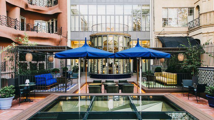 Kettal patio at Barcelona Joyeria rabat