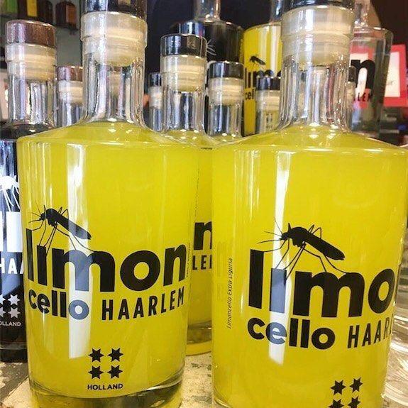Hoe leuk is deze limoncello van Melgers? Goeie start van het weekend  #haarlem #melgers #haarlemcityblog