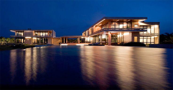 Luxury Beach House in Dominican Republic – Casa Kimball | DigsDigs
