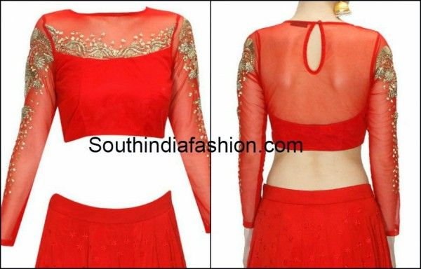 blouse back neck designs 2015 ~ Fashion Trends ~ - Page 2 of 9 - South India Fashion