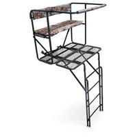 Guide Gear 2-Person 17.5' Double-Rail Ladder Tree Stand: Guide Gear 2-Person 17.5' Double-Rail… #militarysurplus #ammo #outdoor #hunting