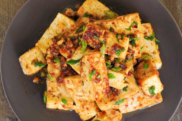 Tofu Roasted Chili Paste 6Thai Recipe, Tofu Recipe
