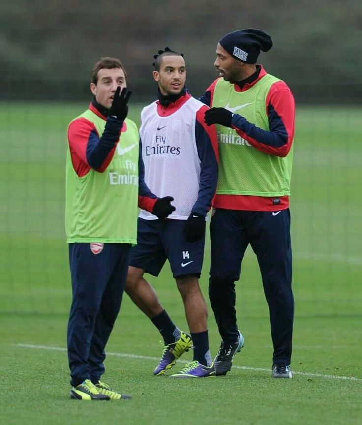 Cazorla, my theo, and king henry yeaaah :*♥♥♥