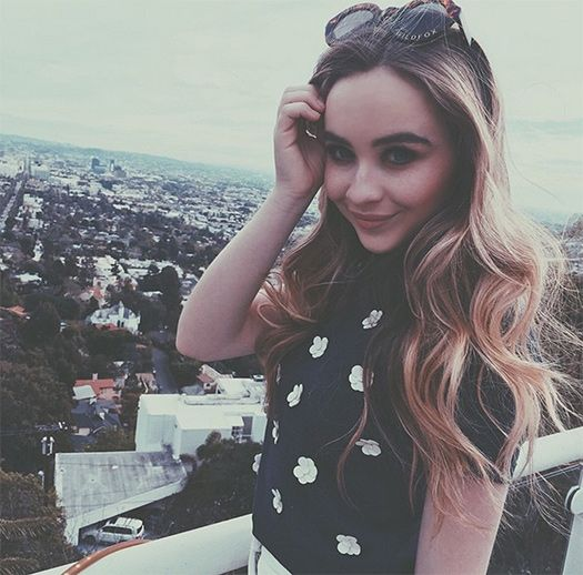 Sabrina Carpenter Eyes Wide Open