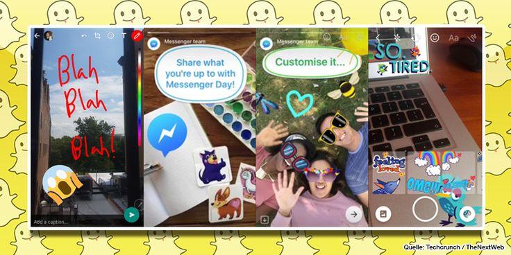 WhatsApp & Messenger: Facebook kopiert mal wieder Snapchat