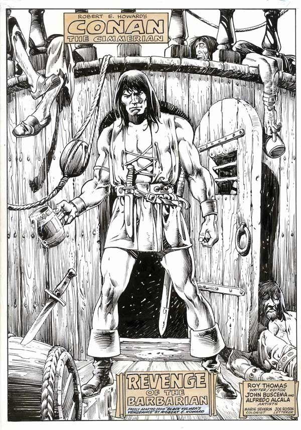 marvel John Buscema conan barbaro