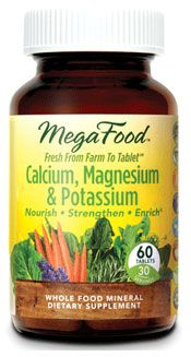 Calcium, Magnesium & Potassium 60ct- Helps to maintain already healthy blood pressure levels and cardiovascular health. Supports the health of bones and muscular system. Easy to digest even on an empty stomach. $23.17