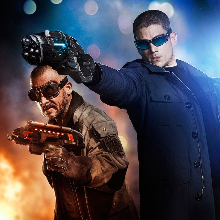 These two, followed closely by Professor Stein, were the best part of the show. Captain Cold has never been so cool. Lol.