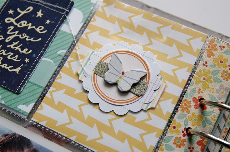 Handbook Maxi Album : Documented  I just love the layering and stitching in these albums and on pages.  Loooove it!