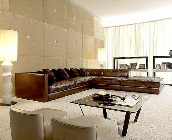 taylor llorente j sectional leather sofas