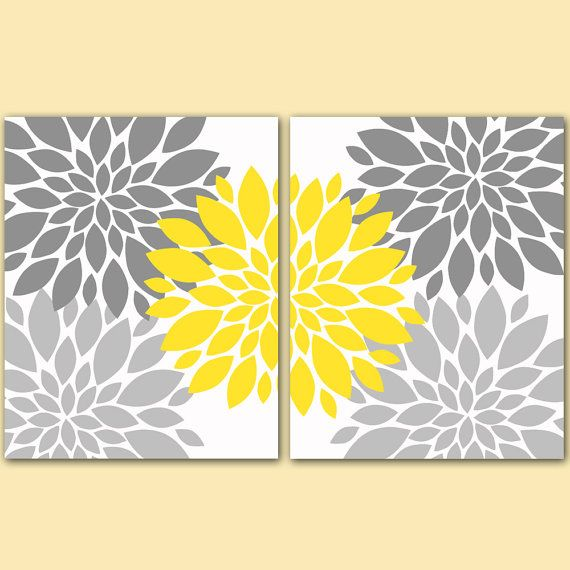 Yellow And Grey Wall Art best 25+ yellow wall art ideas only on pinterest | yellow room