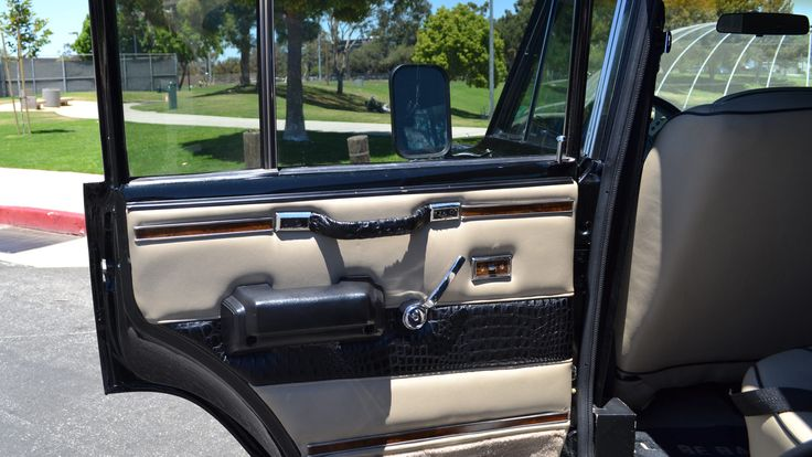 1984 Jeep Grand Wagoneer presented as Lot F207 at Monterey, CA