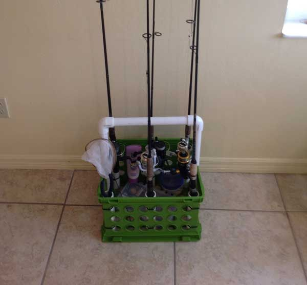 Fishing pole caddy fishing pinterest for Wade fishing caddy