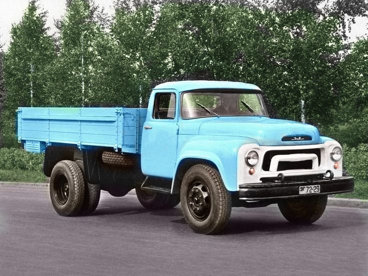 ZIL 130 , 4X2 Trucks, Monster trucks, Vehicles
