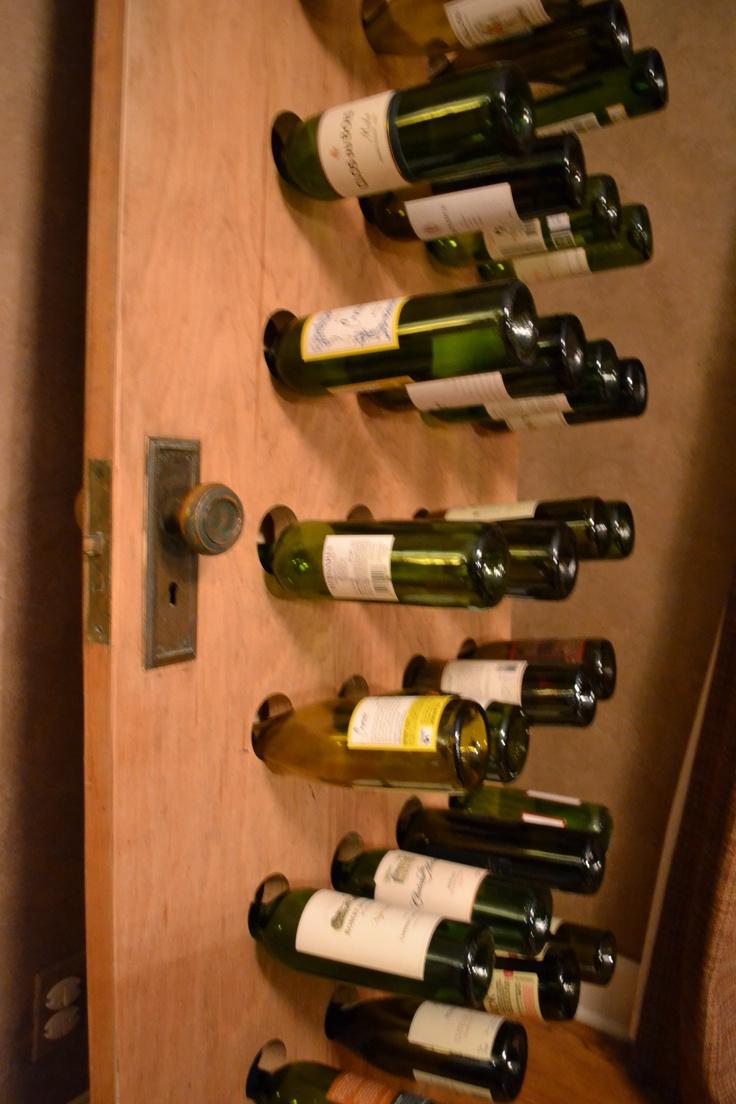 1000 ideas about homemade wine racks on pinterest for Easy wine rack
