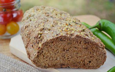 Troll a konyhámban: Köményes barna kenyér - paleo
