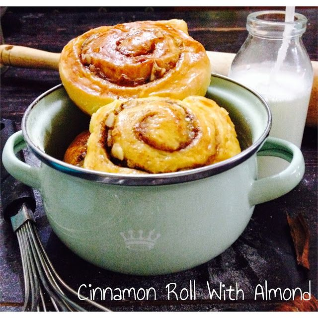 dineat : Cinnamon Roll Almond