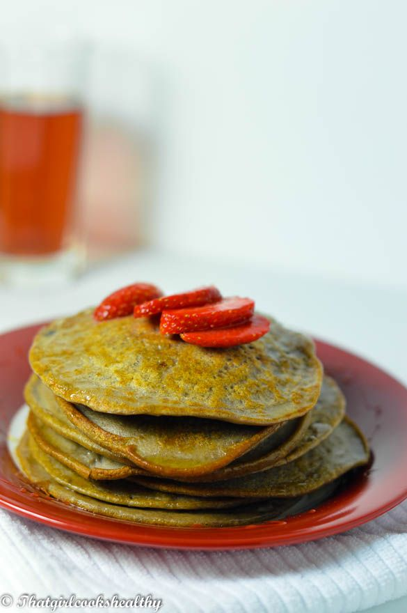 Red bean pancakes (Gluten and dairy free)