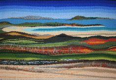 Connemara Landscape Tapestry Weave on Behance