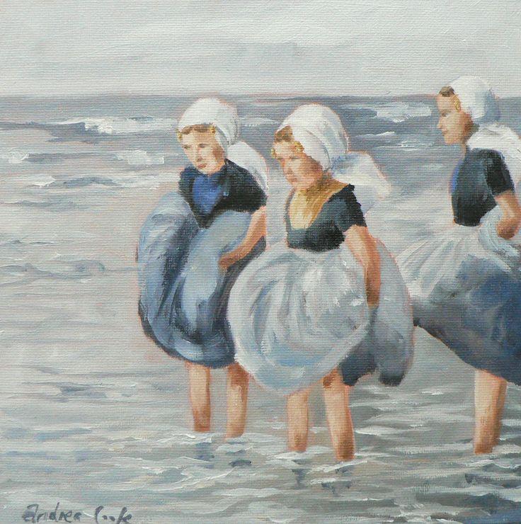 Andrea Cook - pootjes baden