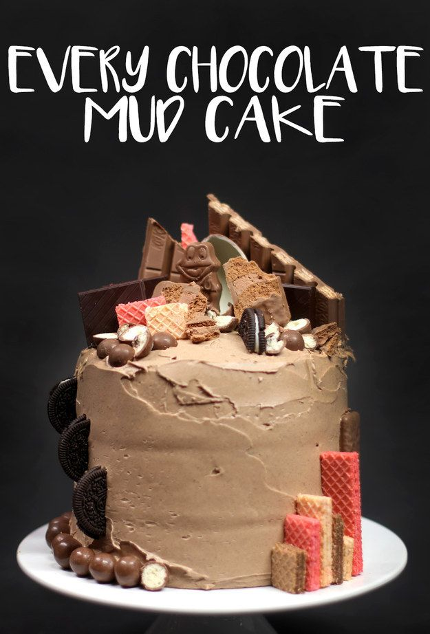 Every Chocolate Mud Cake