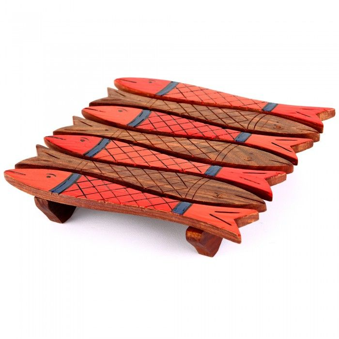 Name : Fish shaped table coasters Price : Rs 349 Buy Now at : http://www.indikala.com/lamps-coasters/fish-shaped-table-coasters.html #Ethnic #Luxury #BuyOnline #India