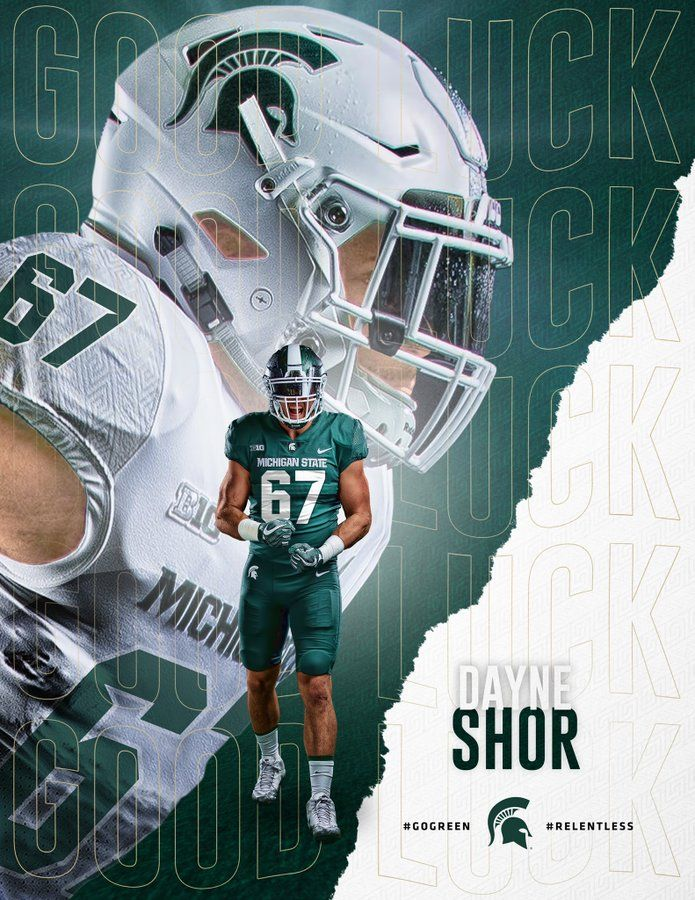 Michigan State In 2020 Sports Design Inspiration Football Poses Sports Design