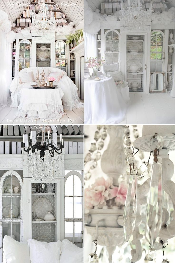 pics of shabby chic decorating | 37 Dream Shabby Chic Living Room Designs