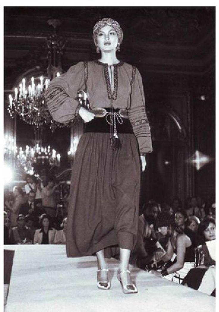 1000 images about haute couture yves saint laurent on pinterest. Black Bedroom Furniture Sets. Home Design Ideas