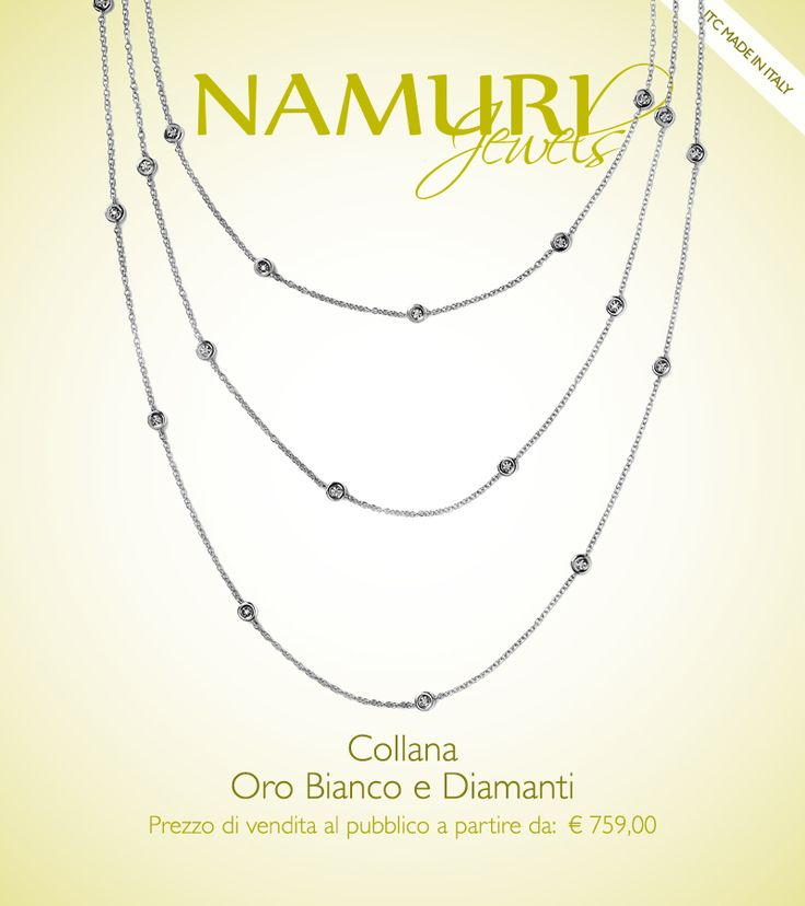 https://itcportale.it/items/pendente-namuri-jewels-oro-bianco-diamanti/  Pendente Namuri Jewels: Oro bianco e diamanti Scopri lo STORE PARTNER piu' vicino a te su ItcPortale.it #itcportale #jewelry #diamond #lifestyle #musthave #wedding #engagement #madeinitaly #diamanti #orobianco #gioielli