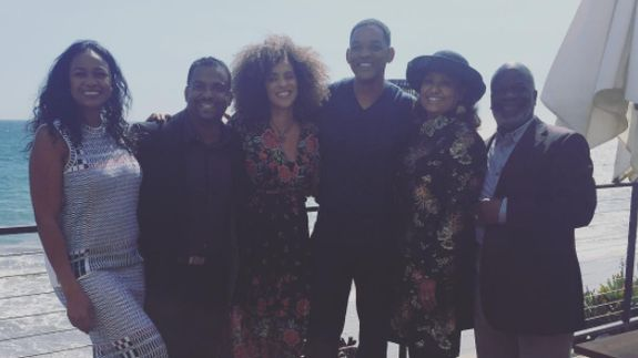 Will Smith and the 'Fresh Prince of Bel-Air' family got together for a nostalgic '90s reunion